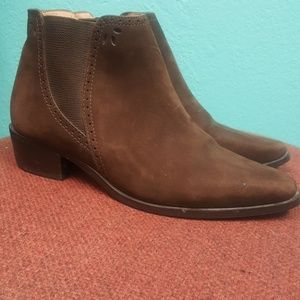 Shoes - Suede brown size 35 boots great quality